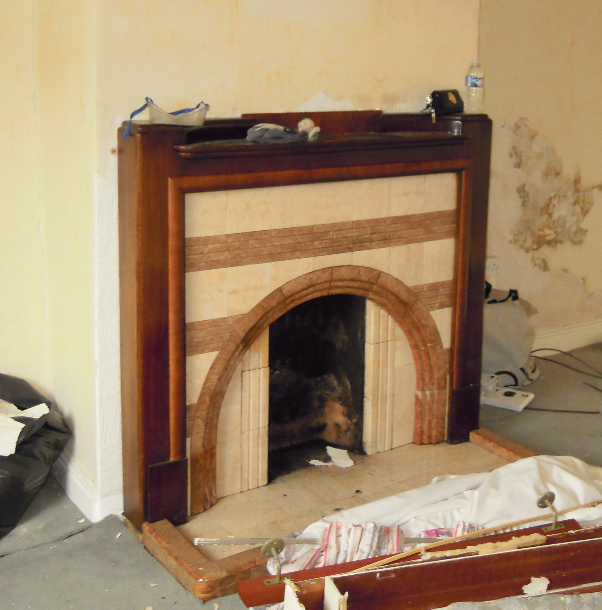 removing old fireplace all homely things